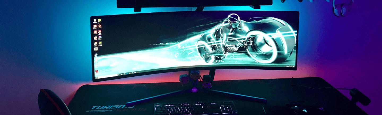 cel mai bun monitor curbat